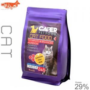 غذای خشک گربه کاپر پت مدل catfood 29% مقدار ۱ کیلوگرم