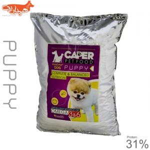 غذای خشک توله سگ کاپر پت مدل puppy 31% مقدار 10 کیلوگرم