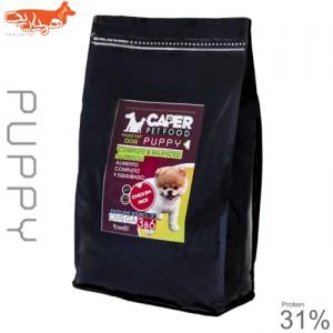 غذای خشک توله سگ کاپر پت مدل puppy 31% مقدار ۴ کیلوگرم